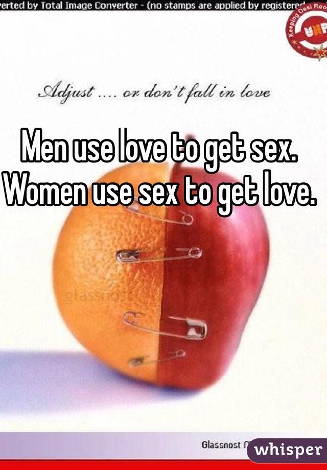 Women get sex