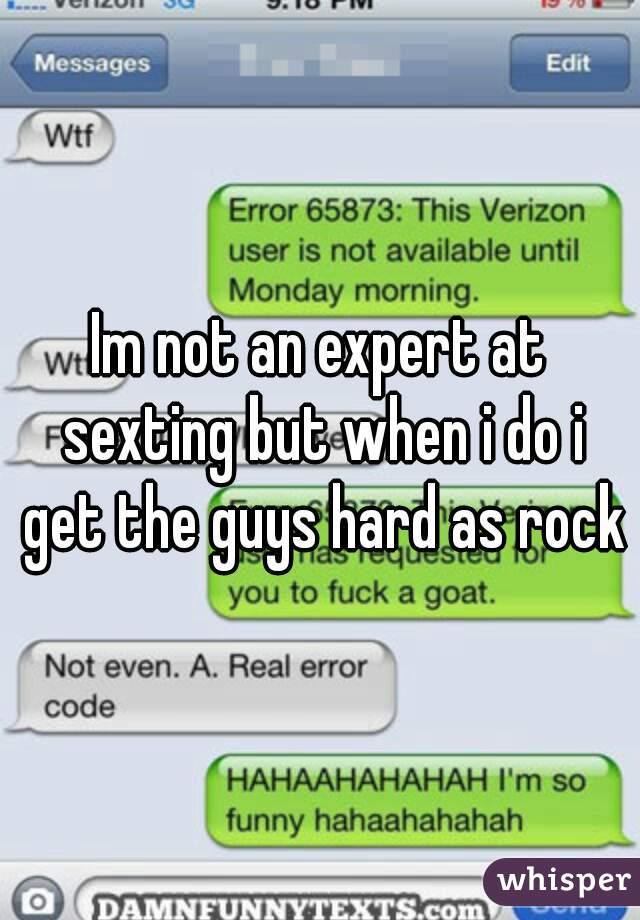 sexting hard