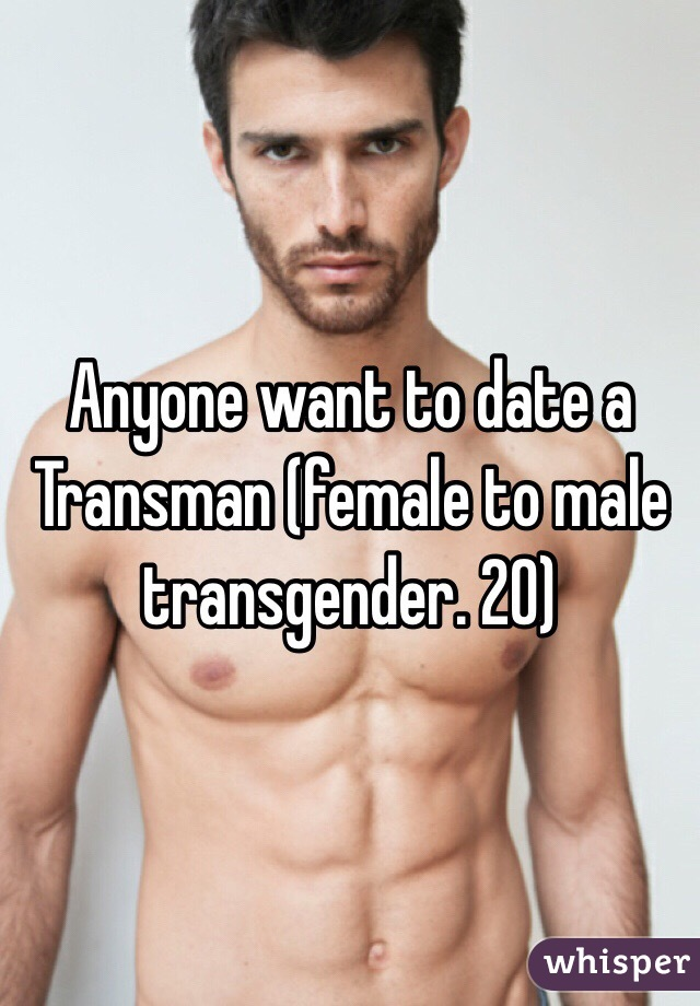 Hookup A Transgender Male To Female
