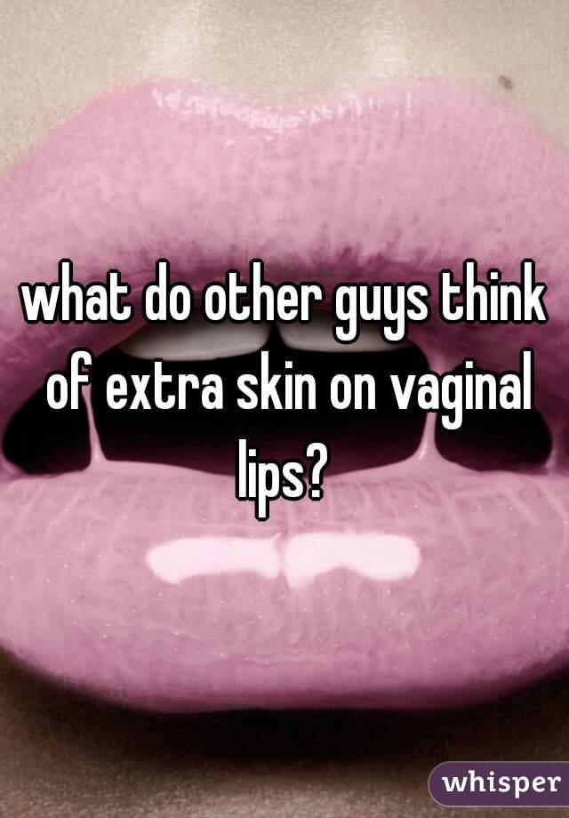 Extra vagina lips