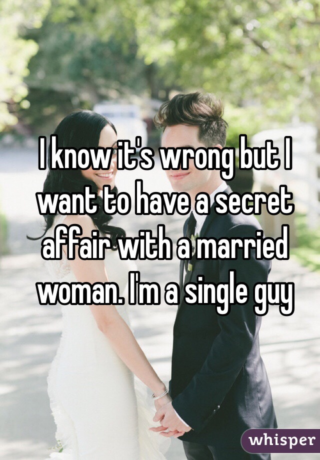 Single Man Falling In Love With Married Woman