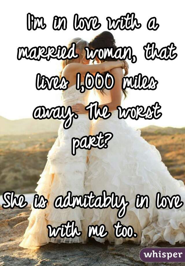 Love with a married woman