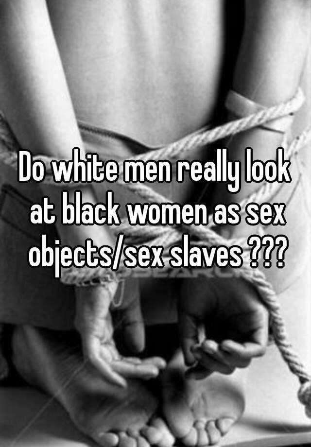 White men and black women foot sex