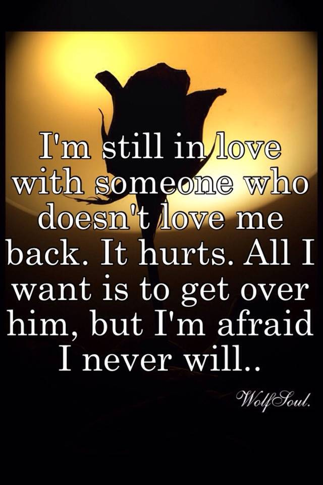 Love Who Doesn Someone Love Me Back I T