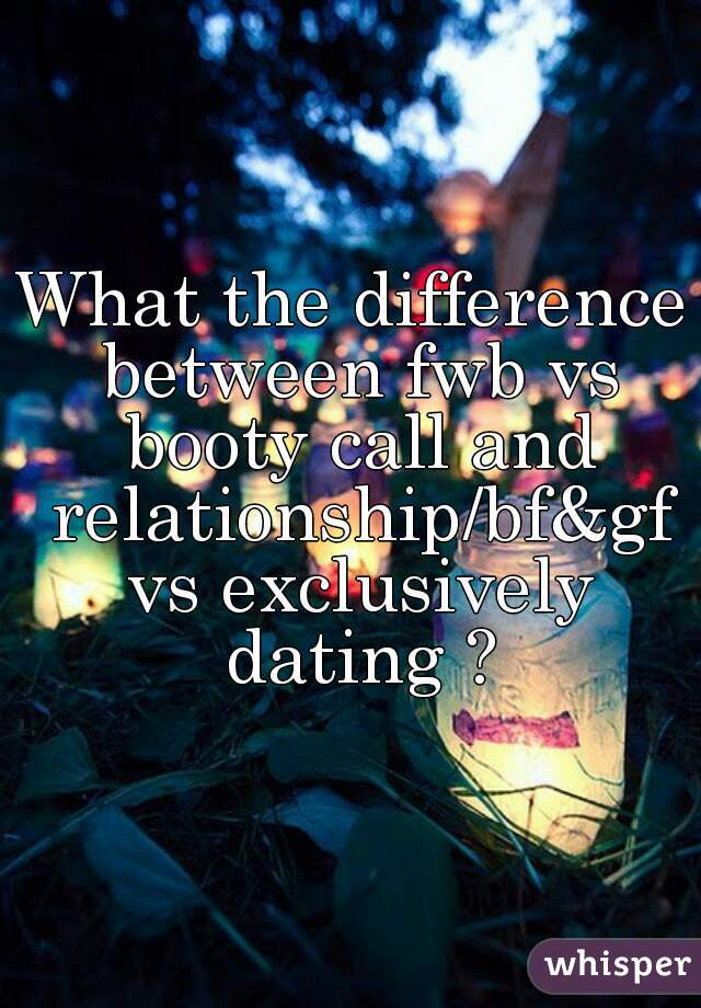 difference between dating exclusively and girlfriend