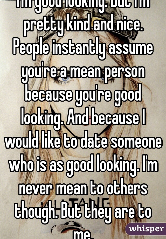 Dating someone not good looking