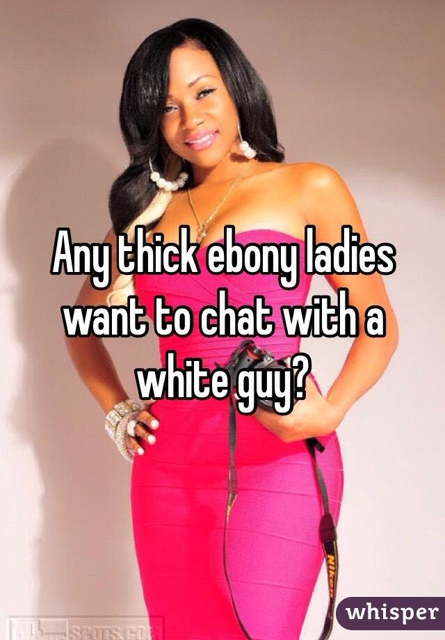 Ebony white guy