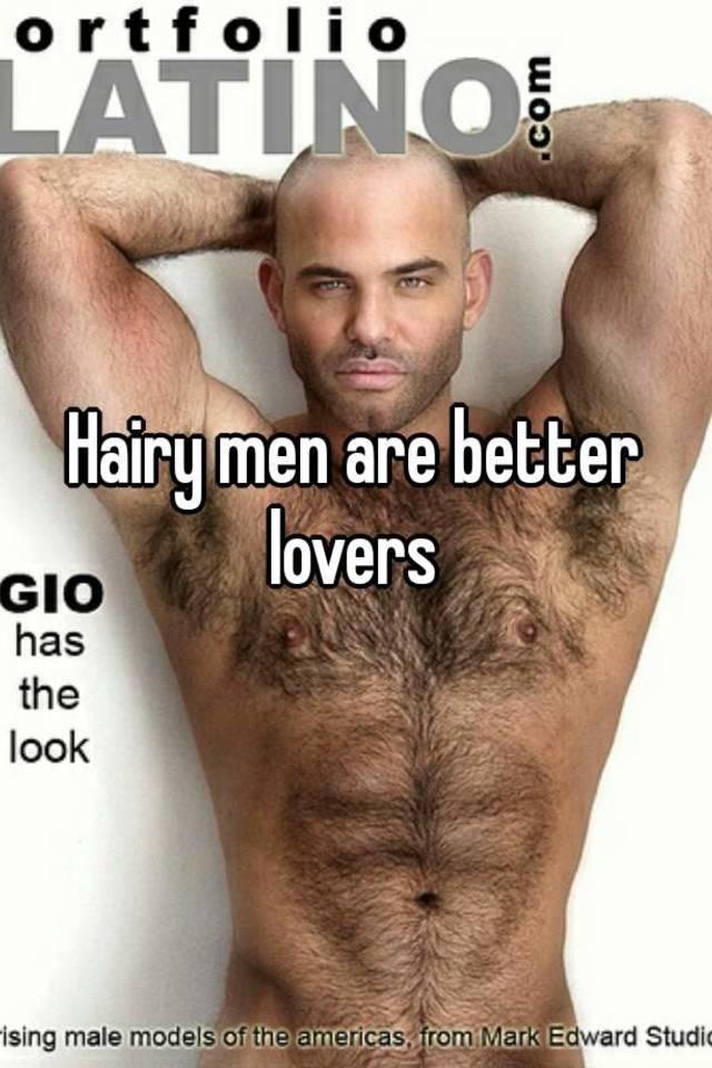 Extreme hairy men