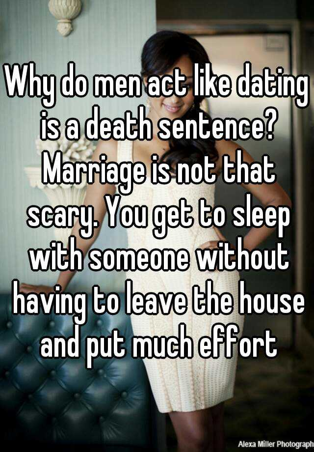 Not dating enough before marriage