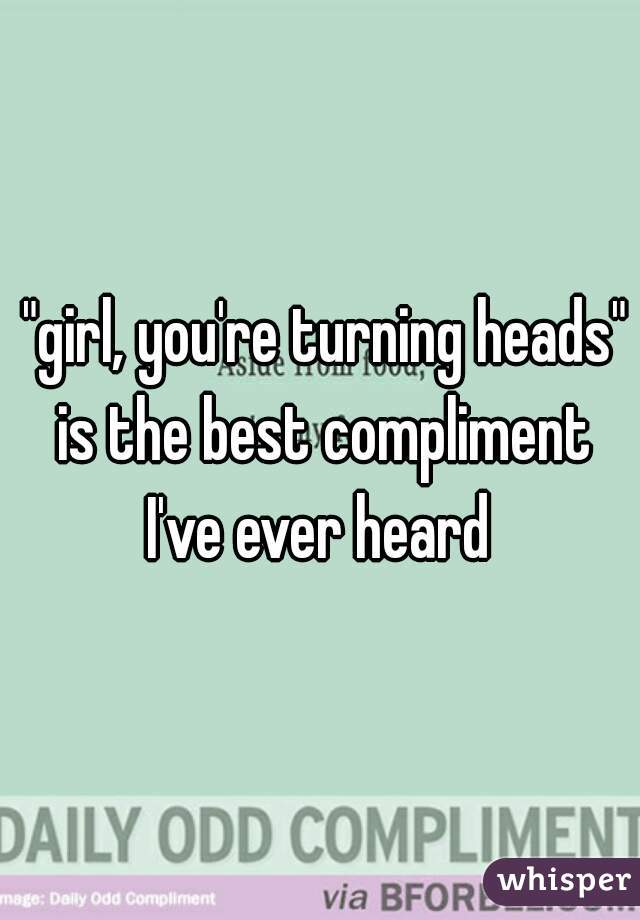 Best Compliment For A Girl Picture
