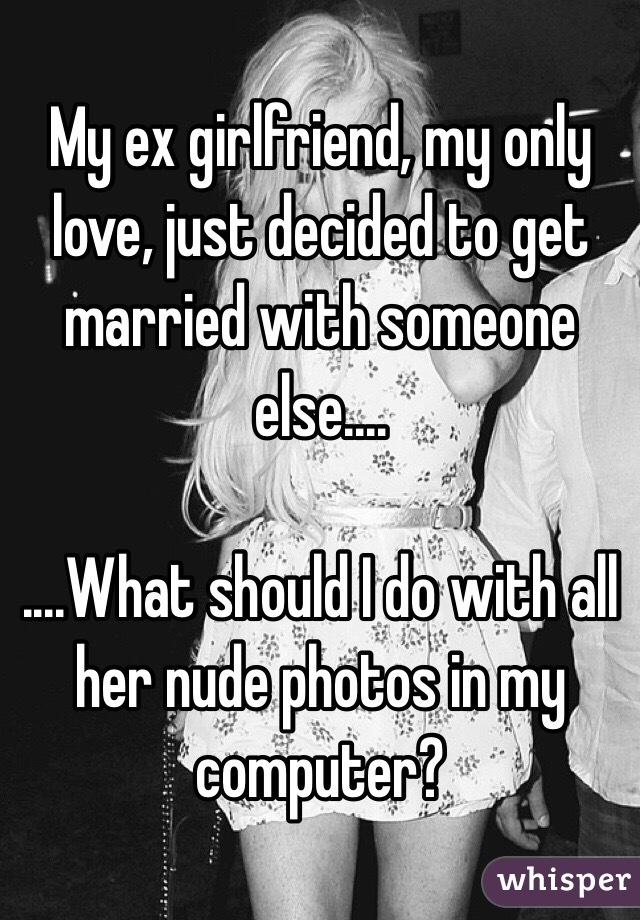 私のガールフレンドは他の人と結婚しています