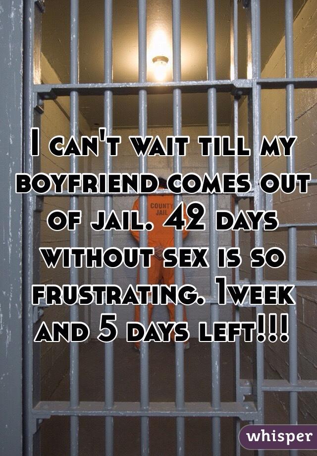 My boyfriend is in jail should i wait