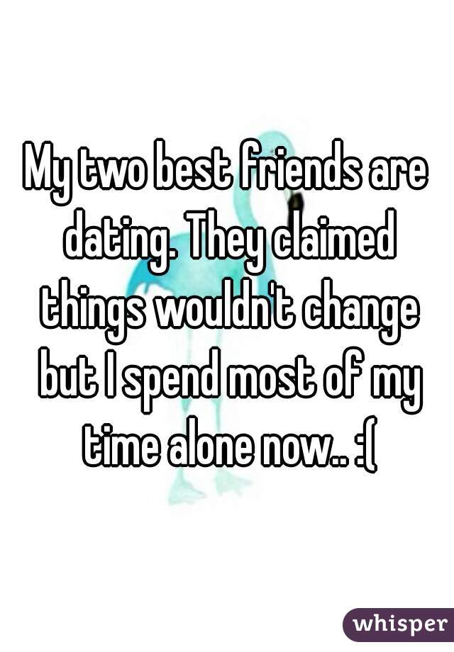 Two best friends dating