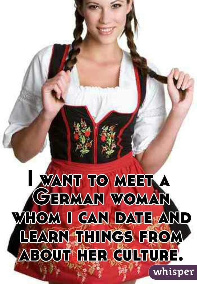 Meet german women