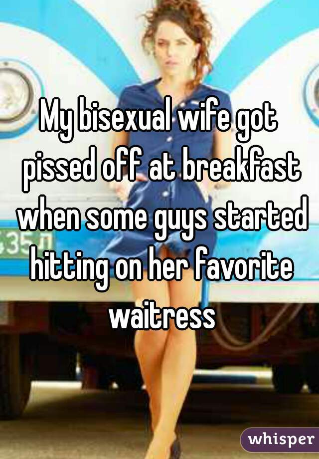 Is my wifwe bisexual