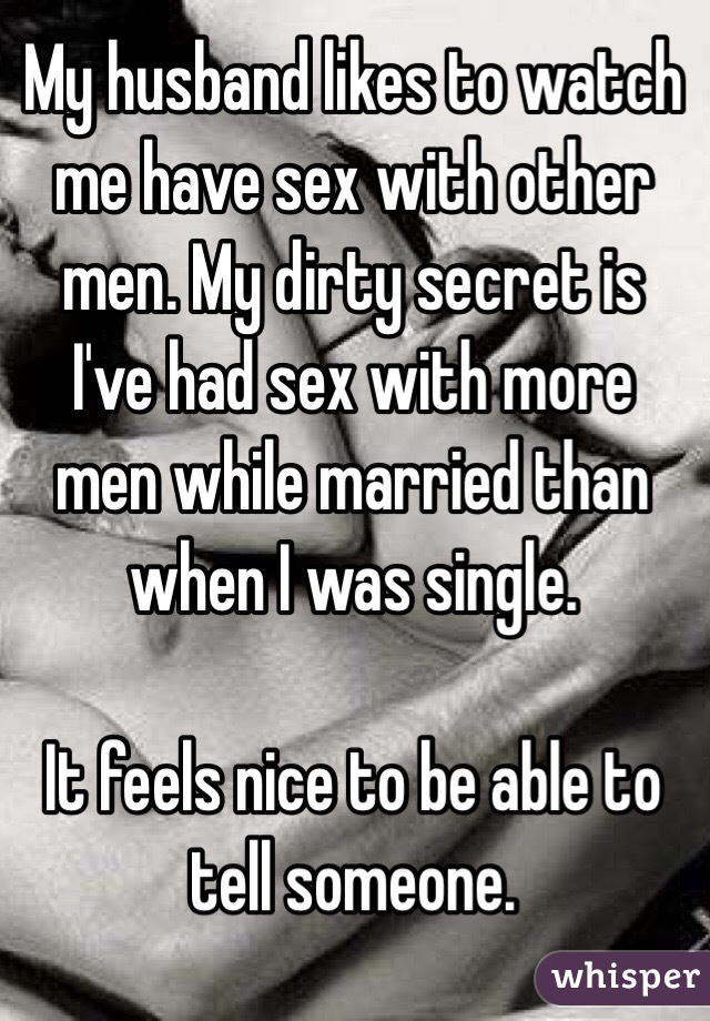 Spouse watchs spouse have sex