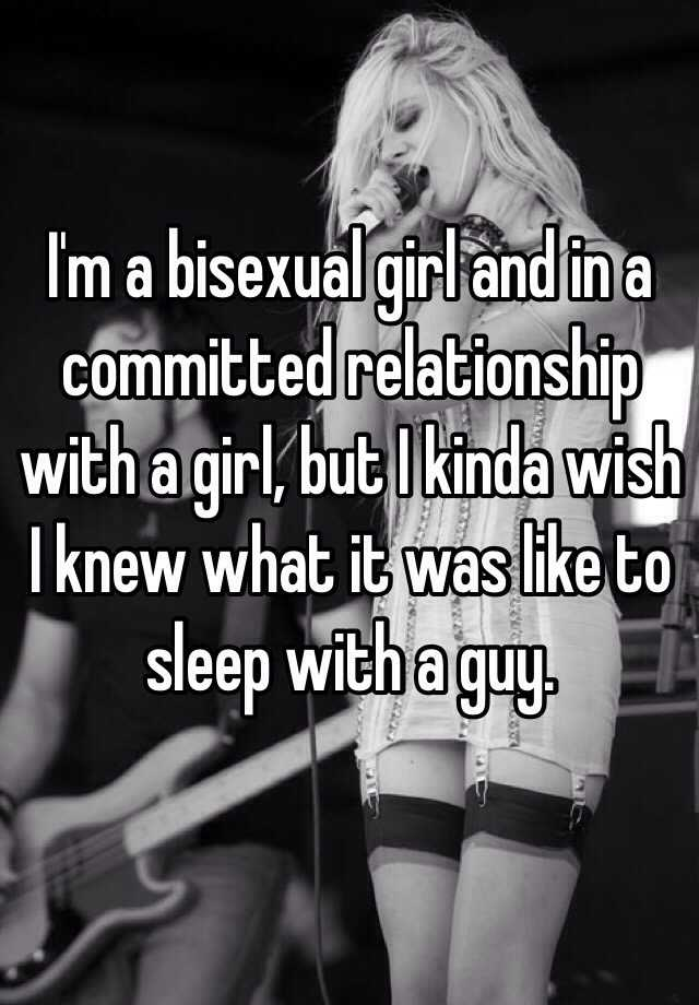 commited have Can relationships bisexuals