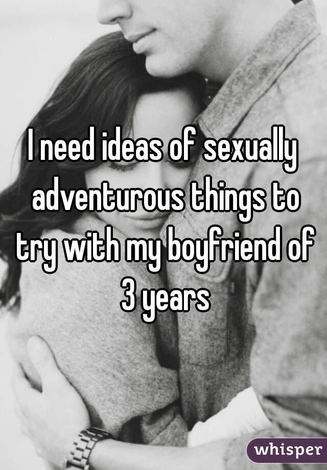 Sexually adventurous