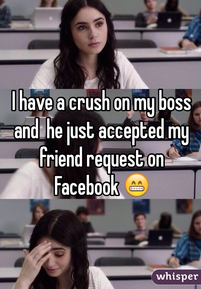 how to handle a crush on your boss
