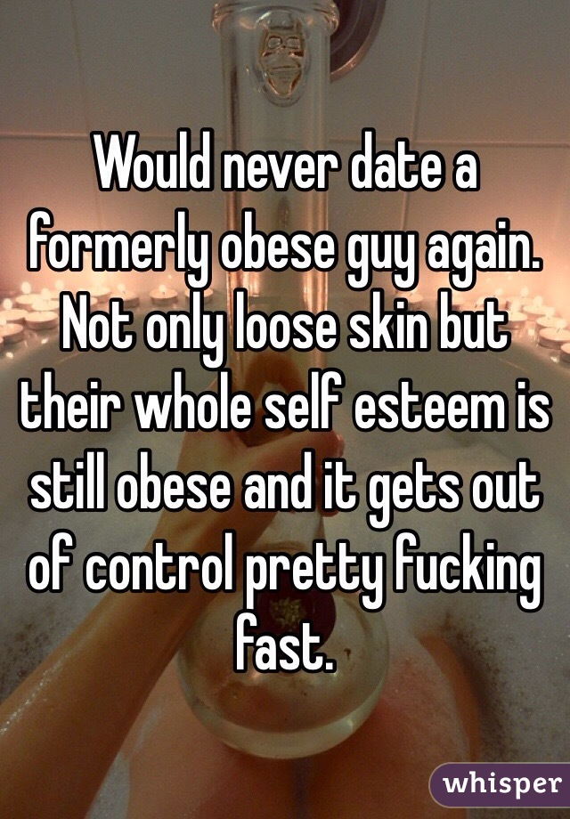 obese guy dating