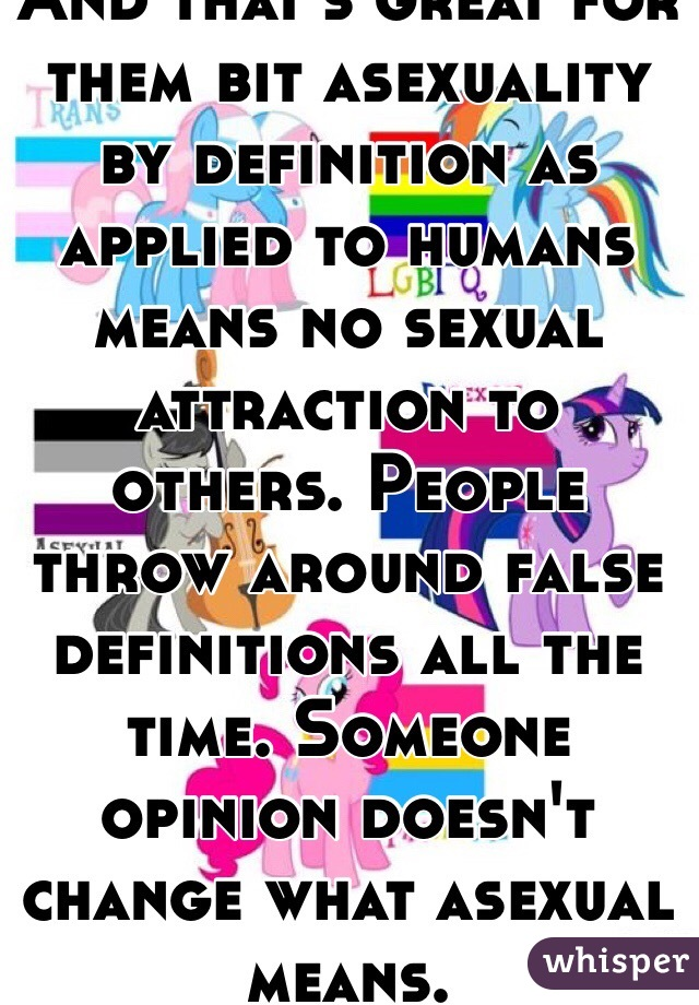 Definition of sexual attraction