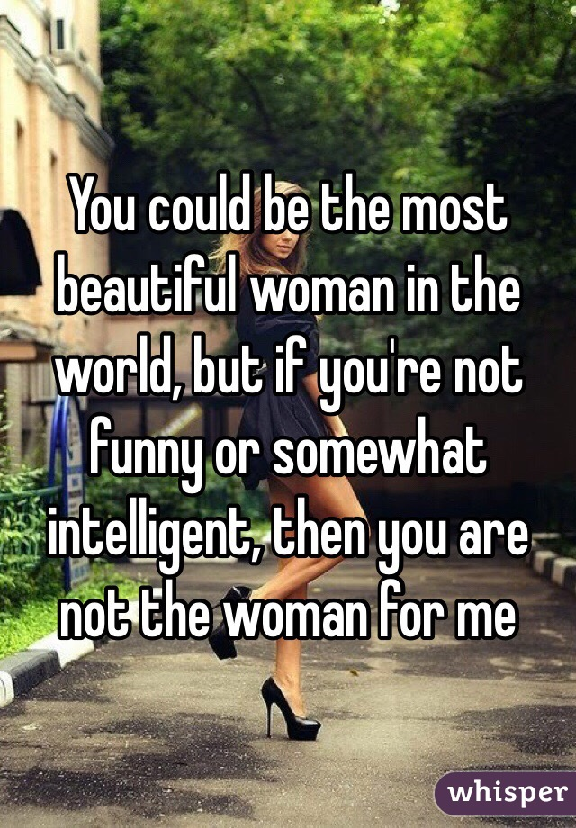 you are a beautiful woman