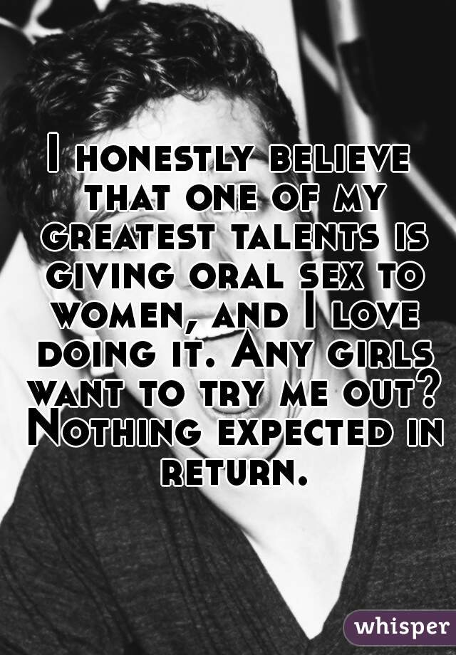 Do most women like oral sex