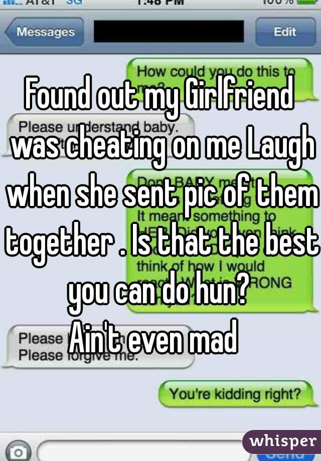 I Think My Gf Cheated On Me