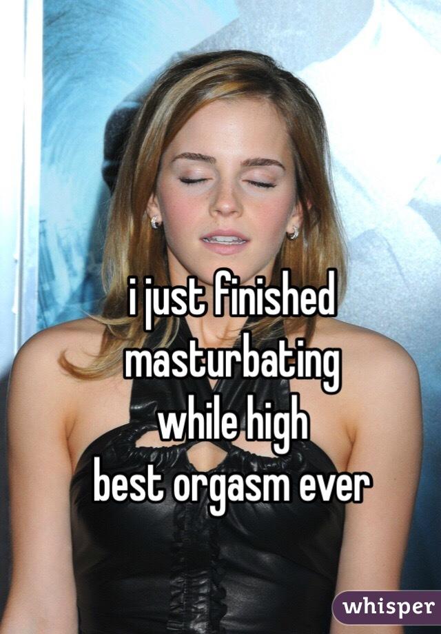 Best orgasm masturbating