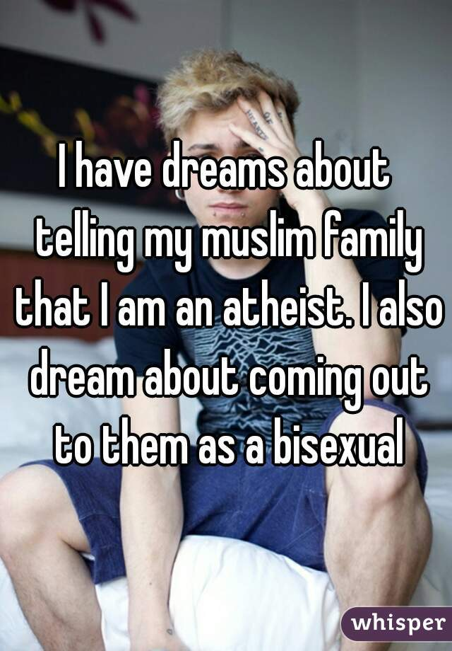 My muslim friend is bisexual