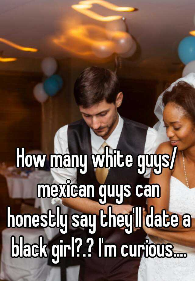 メキシコの女の子と出会う白人の少年