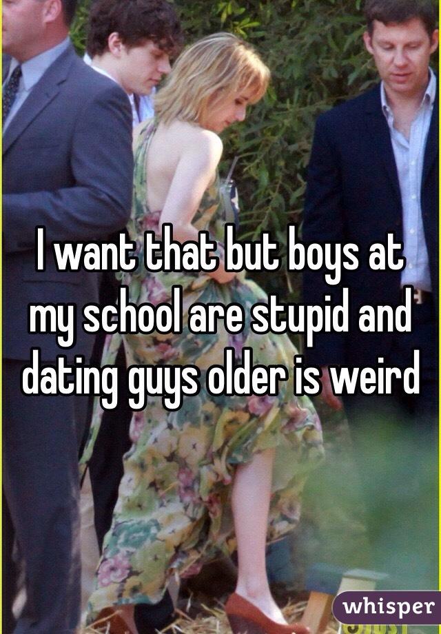 Dating Weird Guys