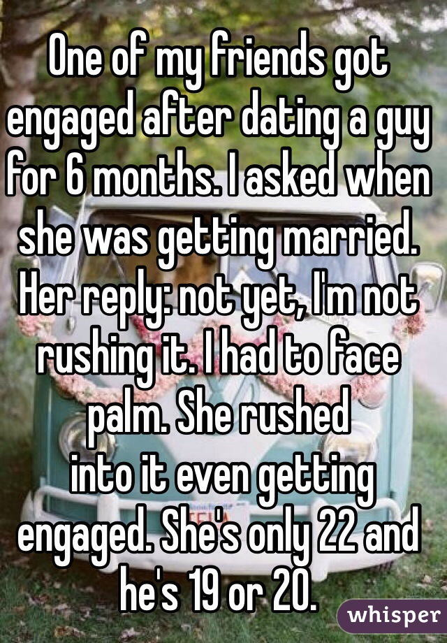 Not engaged after 4 years of dating