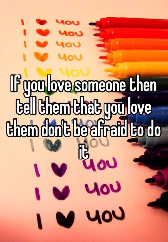 how can you prove to someone you love them