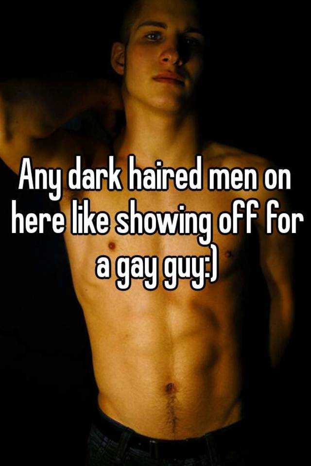 gay man Dark