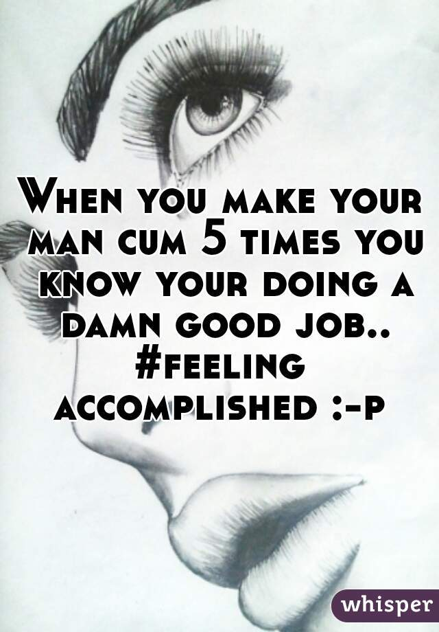 how do you know your about to cum
