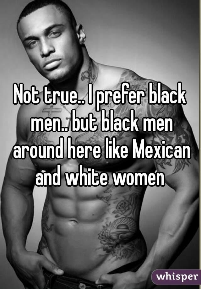 Mexican women black men