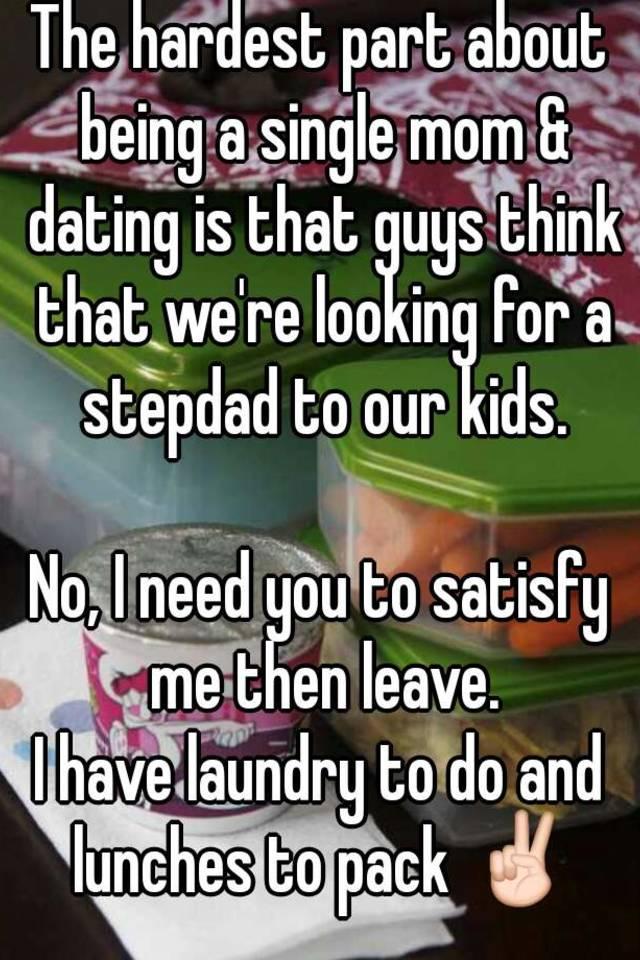Single men with kids
