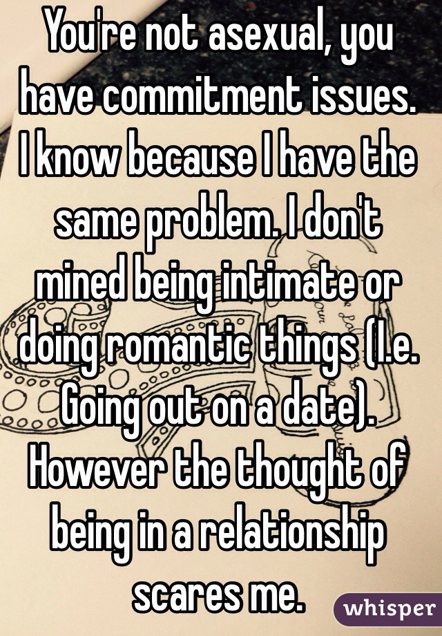 Know If Have You Issues How Commitment Do You