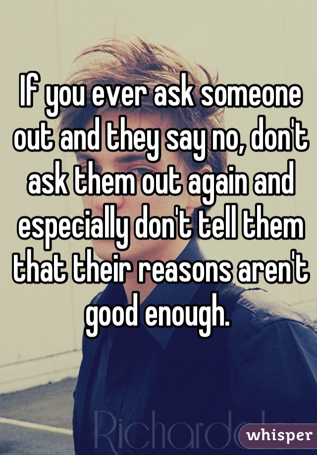 To Say Out Ask Someone What To