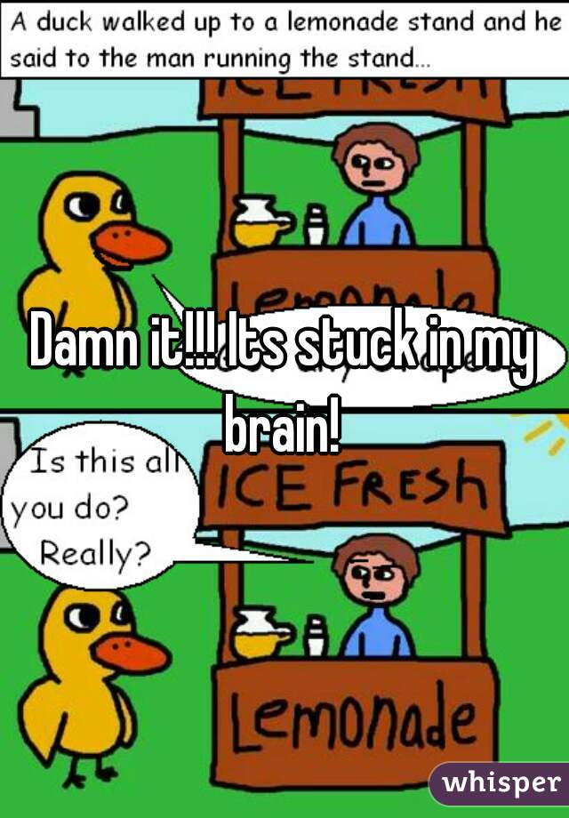 So A Duck Walked Over To The Lemonade Stand And Said To The Man