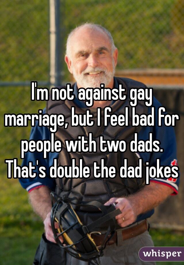 Homosexual marriage jokes