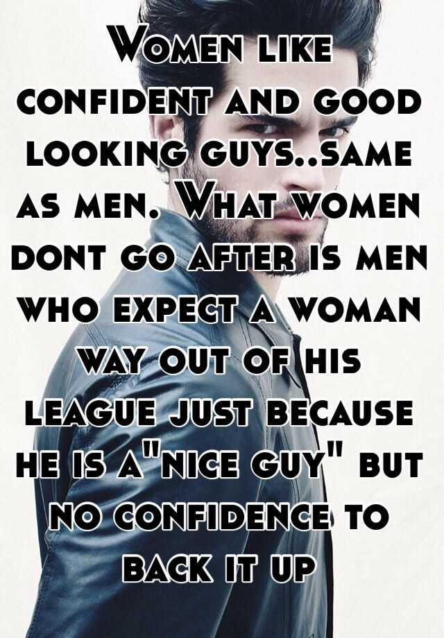 Do guys like confidence in a woman