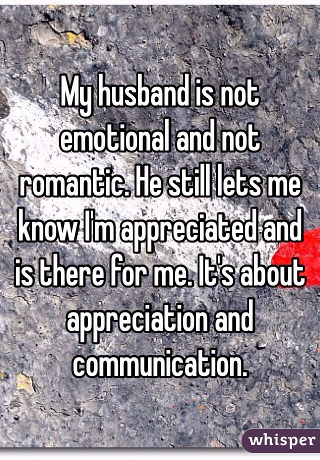 Is emotionally there husband not my for me My Husband