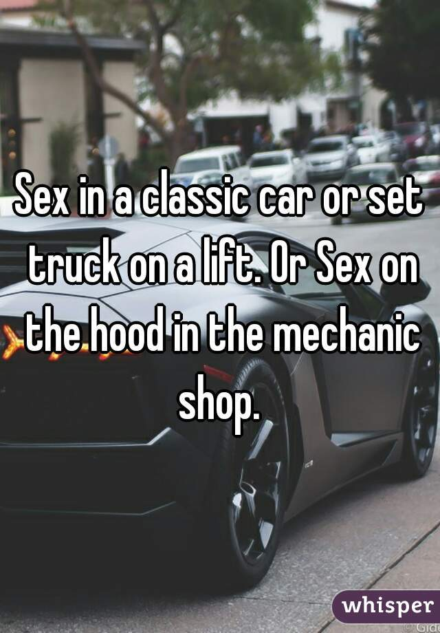 Best sex ever in a truck