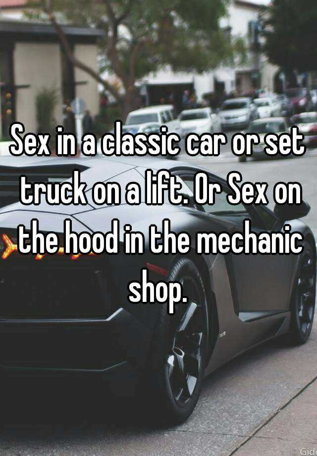 Best place to have car sex