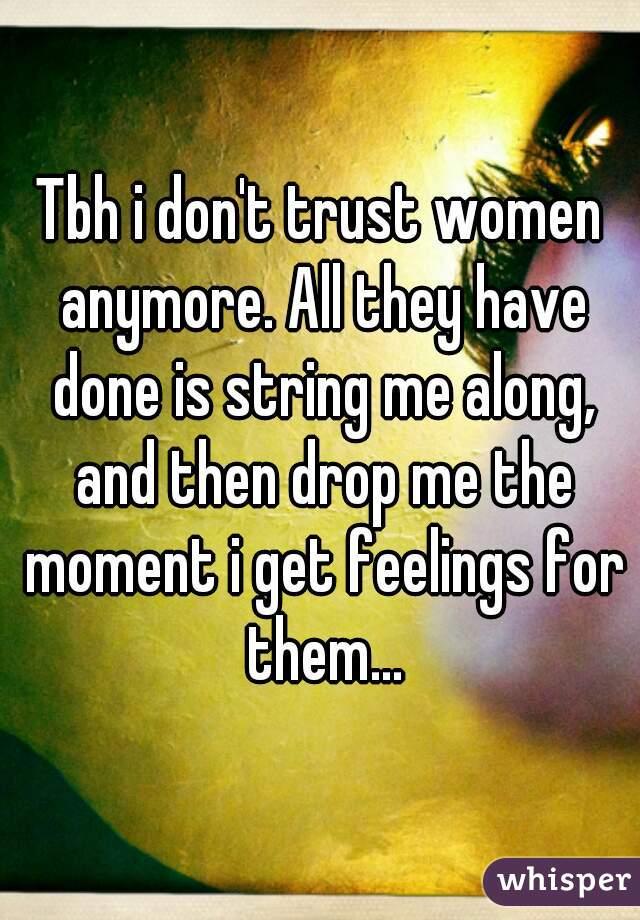 dont trust women