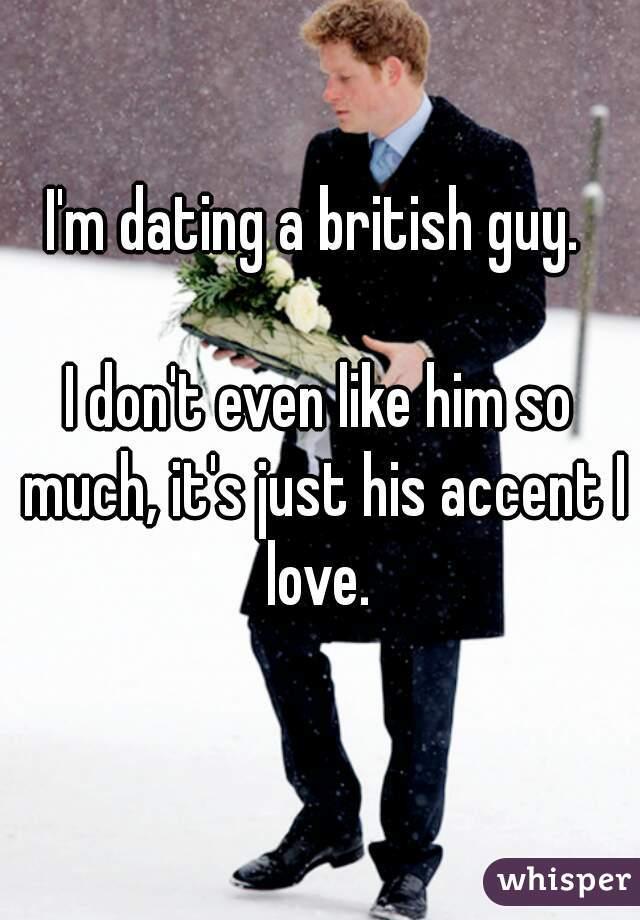 dating british guy