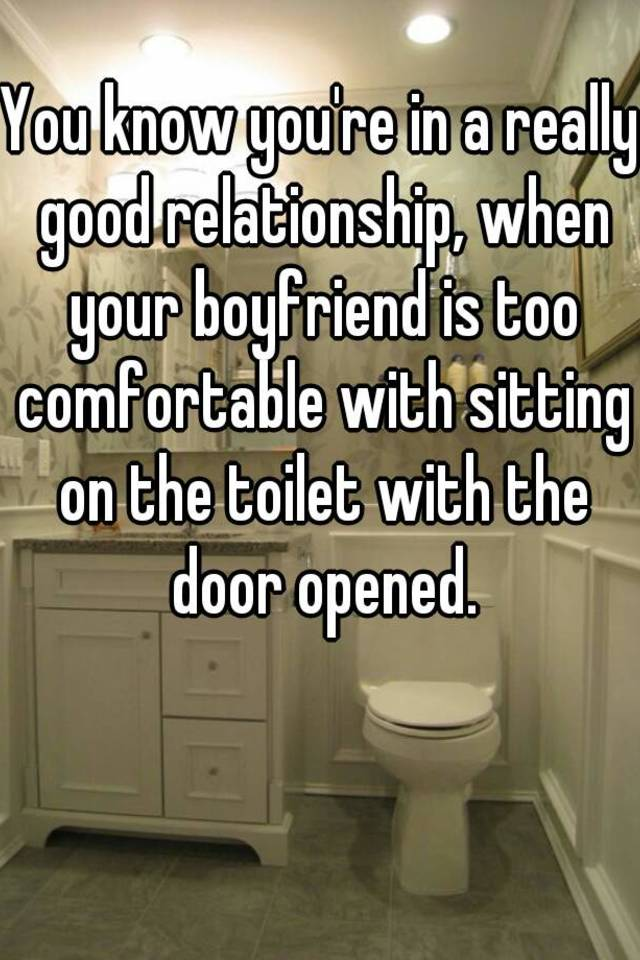 what to do when your boyfriend gets too comfortable