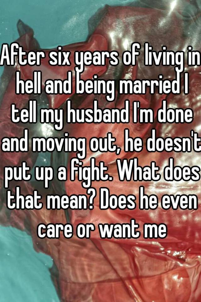 What does being married mean